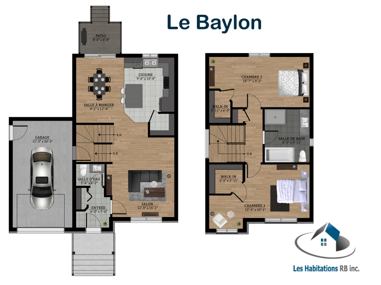 BAYLON FLOORPLANS